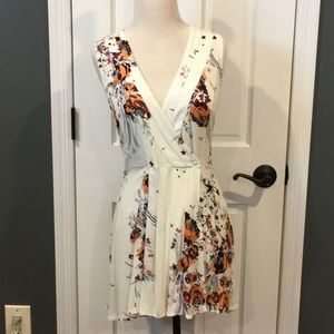 Pretty Floral Free People Tunic